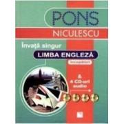 Invata singur limba engleza + 4 CD-Uri audio