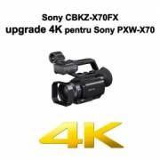 Sony CBKZ-X70FX - cod upgrade firmware 4K pentru Sony PXW-X70