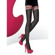 Ciorapi imitatie jambiere cu model Fiore Clemis 60 den