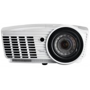 Videoproiector Optoma Short Throw EH415ST, 3500 lumeni, 1920 x 1080 HD, Contrast 15000:1, HDMI (Alb)