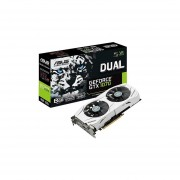 Tarjeta De Video Nvidia Asus GTX 1070 DUAL-GTX1070-8G GeForce 8GB GDDR5 256-bit PCI-E-Blanco