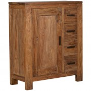 Commode RUBEN 1 deur, 4 laden