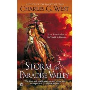 Storm in Paradise Valley by Charles G West