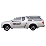 HARD TOP CARRYBOY MITSUBISHI L200 CLUB CAB 2006 AVEC VITRES LATERALE - acc...