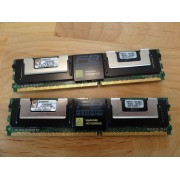 KINGSTON FBDIMM KTM5780/8G - 8Go (2x 4Go) DDR2 5300F - 100% Working
