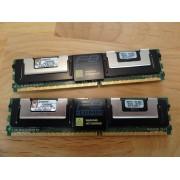 KINGSTON FBDIMM KTM5780/8G - 8Go (2x 4Go) DDR2 5300F - 100% Working