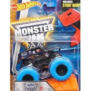HOT WHEELS GRAVE DIGGER MONSTER JAM WITH BLUE TIRES RELEASE