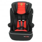 Siège Auto Isofix Ferrari Grand Confort De 9 À 36kg - Fabrication 100% Française - 3 Étoiles Test Tcs - Protections Latérales - Cale Tête Rembourré Et Ajustable - Mycarsit - Rouge
