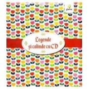 Pachet Craciun CD2 Legende romanesti cu CD + Cartea cu colinde cu CD