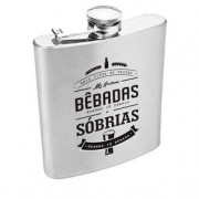 Cantil de Whisky e Cachaça em Aço Inox Tipos de Pessoas