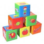 Set cuburi educative pentru baie 6 bucat
