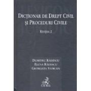 Dictionar de drept civil si proceduri civile Ed.2 - Dumitru Radescu Elena Radescu Georgeta Stoican