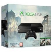 Consola XBOX One (fara Kinect) + Assassin's Creed Bundle (Black Flag & Unity - Cod Voucher)