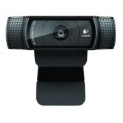 Logitech C920 - webcams (1920 x 1080 pixels, 1080p, 720p, H.264, M-JPEG, USB 2.0, Black, Clip/Stand)