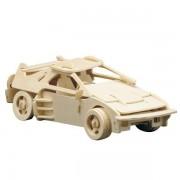 Puzzle eco 3D din lemn Masina Sport Pebaro