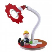 energie A++, Tafellamp Brandweerman - hout 1 lichtbron, Elobra