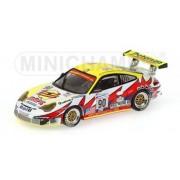 Minichamps 400046990 Modellino Porsche 911 Gt3-Rsr Maassen Le Mans 2004 Auto Da Gara Scala 1:43