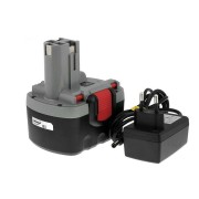 Bosch Typ 2607335686 O-Pack Li-Ion inkl. Ladegerät : 14,4V - 2000mAh/29Wh - Ersatzakku