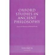 Oxford Studies in Ancient Philosophy: v. 40 by James Allen