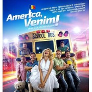 Gheorghe Ifrim,Adrian Vancica,Mihai Calin,Ioana Blaj,Stefan Giurgiu/Razvan Savescu - America,venim! (DVD)