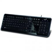 Tastatura SlimStar i250 USB Black US GENIUS