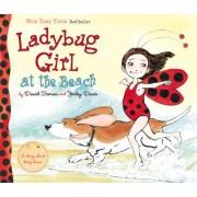 Ladybug Girl at the Beach by David Soman