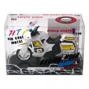 Gueydon Giocattoli - 802.037 - Miniature Radio Control Vehicle - Police Car Light Sound - Modello casuale