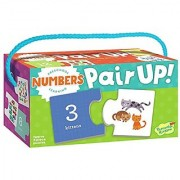 Peaceable Kingdom Preschool Learning Pair Up! Numbers Matching Puzzles