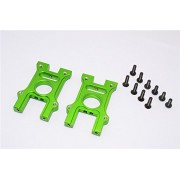 HPI Bullet 3.0 Nitro Upgrade Parts Aluminium Center Diff Housing - 2Pcs Set Green