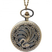 Bromstad Vintage Metal Pocket Watch Chain 1007BW Singapore Movt. Sony Japan Battery 2 Yeas i Year Warranty with Box