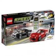 Lego - 75874 - Speed Champions - - Jeu De Construction - Chevrolet Camaro Drag Race