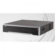 Hikvision DS-7732NI-I4 NVR, 32 csatorna, 256Mbps rögzítési sávszélesség, H265, HDMI+VGA, 3xUSB, 4x Sata, eSata, I/O