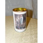 Lámpara votiva de la Virgen de Lourdes