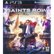 New Brand Saints Row IV 4 with Commander in Chief Edition DLC PS3 Game