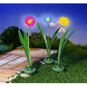 Decoratiune gradina floare solara-galben