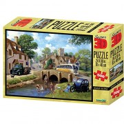 Kevin Walsh kw10035 Down by the River Super Puzzles 3D (500)