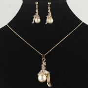 Set bijuterii Gold Pearl Girl