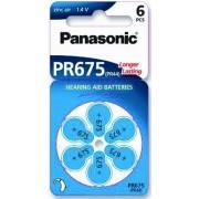 Baterija za slušni aparat Panasonic PR675