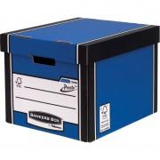 Archive Storage Boxes Premium Presto Tall Blue Pk 10