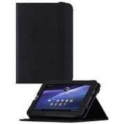 HHI Re-Elegant Muti-Function Viewing Stand Case For Toshiba Thrive 7 - Black (Package include a HandHelditems Sketch Sty