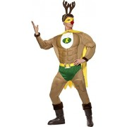 Smiffys - Costume Super Renne - Taille M