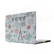 "Hat-Prince Tower Pattern Full Body Matte Case for MacBook Pro 13.3"" w/ Retina Display - Multicolor"