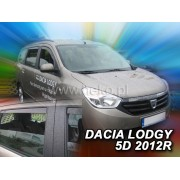 Deflektory komplet 4 ks - Dacia Lodgy, 2012-