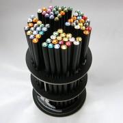 Swarovski köves ceruza - fekete - több darabos kiszerelésben