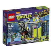 LEGO Ninja Turtles Mutation Chamber Unleashed Building Set (79119)