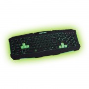KBD, KEEPOUT F90, Gaming, LED, 8 changable, 9 multimedia and 6 programmable keys