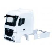 Herpa 083706 - Vano autista di trattore stradale Mercedes-Benz Actros Bigspace con deflettori di fumo, specchietti, 2 pz.