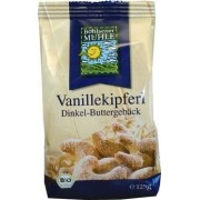 Biscuiti bio din spelt cu unt si aroma vanilie
