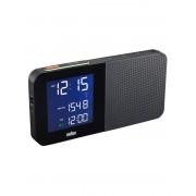 Ceas desteptator Braun LCD Radio Controlat BNC010-BL-RC
