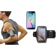 Fascia da braccio sportiva compatibile Samsung S6 schermo tattile